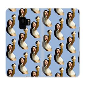 Kendall Jenner funny  Samsung Galaxy S9 Wallet Case