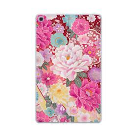 Sakura Vintage Samsung Galaxy Tab A 10.1 (2019) Clear Case