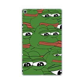 Sad Pepe frog seamless Samsung Galaxy Tab A 10.1 (2019) Clear Case