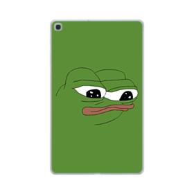 Sad Pepe frog Samsung Galaxy Tab A 10.1 (2019) Clear Case
