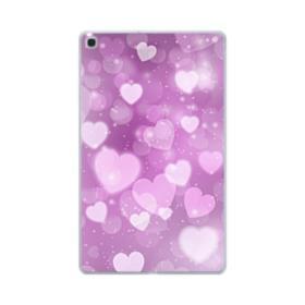 Aurora Hearts Samsung Galaxy Tab A 10.1 (2019) Clear Case