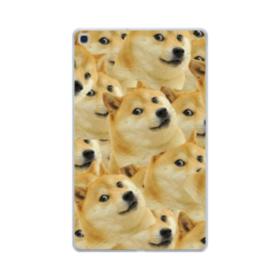 Doge meme seamless Samsung Galaxy Tab A 10.1 (2019) Clear Case