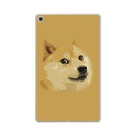 Doge meme Samsung Galaxy Tab A 10.1 (2019) Clear Case