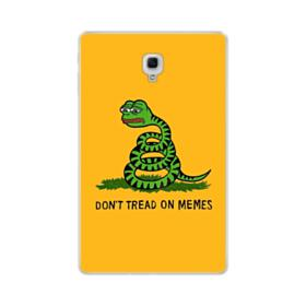 Pepe the frog don't tread on memes Samsung Galaxy Tab A 10.5 Clear Case