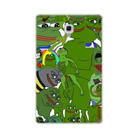 Rare pepe the frog seamless Samsung Galaxy Tab A 10.5 Clear Case
