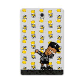 Funny Bart Collage Samsung Galaxy Tab S4 10.5 Clear Case