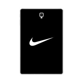 Nike Logo Black Samsung Galaxy Tab S4 10.5 Clear Case