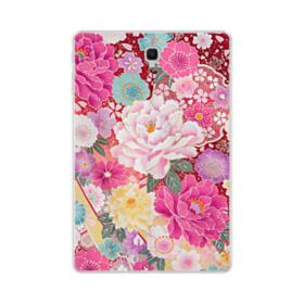 Sakura Vintage Samsung Galaxy Tab S4 10.5 Clear Case