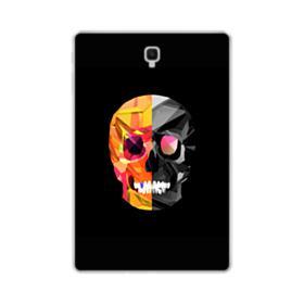 Skeleton Head Design Samsung Galaxy Tab S4 10.5 Clear Case