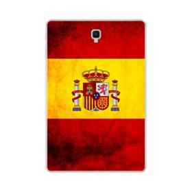Flag of Spain Grunge Samsung Galaxy Tab S4 10.5 Clear Case
