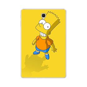 The Simpsons Bart Smiling Samsung Galaxy Tab S4 10.5 Clear Case