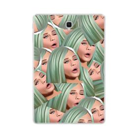 Kylie Jenner funny emoji kimoji Samsung Galaxy Tab S4 10.5 Clear Case