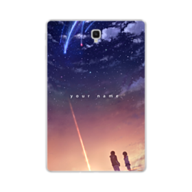 Your Name Poster Samsung Galaxy Tab S4 10.5 Clear Case
