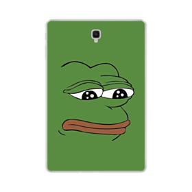 Sad Pepe frog Samsung Galaxy Tab S4 10.5 Clear Case