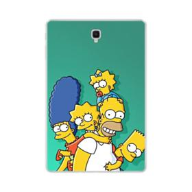 Simpsons Family Samsung Galaxy Tab S4 10.5 Clear Case