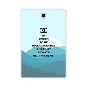 Quote Irreplacable Samsung Galaxy Tab S4 10.5 Clear Case