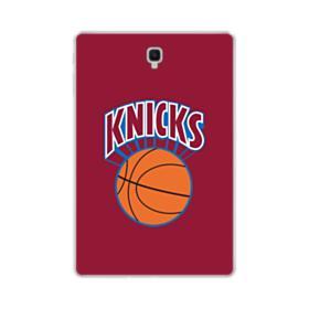 New York Knickerbockers Team Logo Red Samsung Galaxy Tab S4 10.5 Clear Case