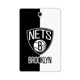 Brooklyn Nets Black White Samsung Galaxy Tab S4 10.5 Clear Case