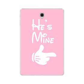 Mickey Hand For Her Pink Samsung Galaxy Tab S4 10.5 Clear Case