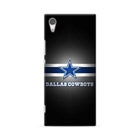 Dallas Cowboys Logo Blue White Banner Sony Xperia XA1 Case