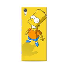 The Simpsons Bart Smiling Sony Xperia XA1 Case