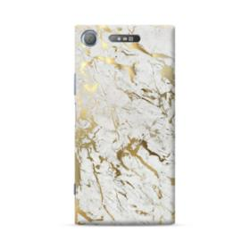 Gold Leaf Marble Sony Xperia XZ1 Case