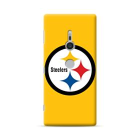 Pittsburgh Steelers Team Logo Round Sony Xperia XZ2 Case