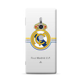 Real Madrid Team Logo Gray Sony Xperia XZ2 Case