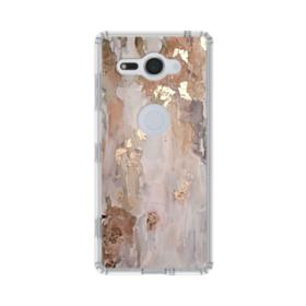 Gold abstract painting Sony Xperia XZ2 Compact Case