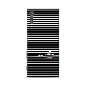 Girl Behind The Blinds Sony Xperia XZ Case