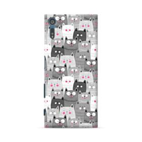 Lovely Cats Crowd Sony Xperia XZ Case