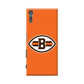Football Shape B Symbol Sony Xperia XZ Case