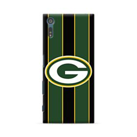 Green Bay Packers Vertical Stripes Sony Xperia XZ Case