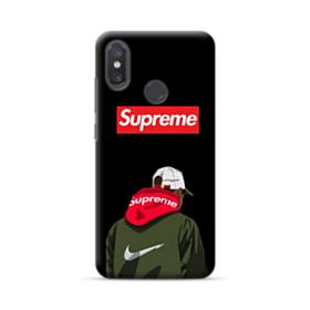 Supreme x Nike Hoodie Xiaomi Mi 8 Case