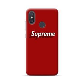 Supreme Red Cover Xiaomi Mi 8 Case