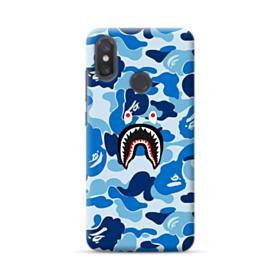 Bape Shark Blue Camo Xiaomi Mi 8 Case
